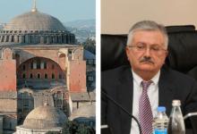 """Photo of """"აია-სოფიას ტაძრისთვის სტატუსის შეცვლა თავად თურქეთისთვის იქნება დამაზიანებელი"""""""