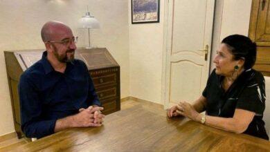 Photo of სალომე ზურაბიშვილმა და შარლ მიშელმა საფრანგეთში საქართველოში მიმდინარე პროცესებზე ისაუბრეს