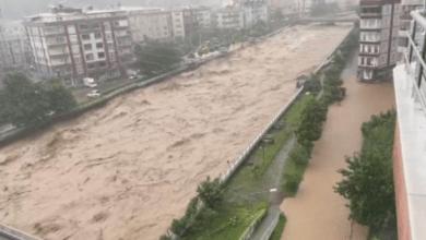 Photo of თურქეთში გადაუღებელი წვიმის გამო მდინარეები ადიდდა (ვიდეო)